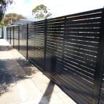 Aluminium Slat Fence 18