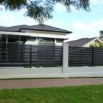 Aluminium Slat Fence 3