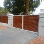 Aluminium Slat Fence 4