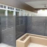 Aluminium Slat Fence 7