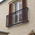 Aluminium Spartan Scroll Balustrade 1