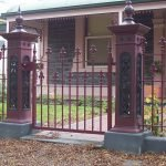 Double Row Spear Heritage Fence 2