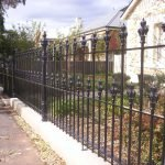 Double Row Spear Heritage Fence 3