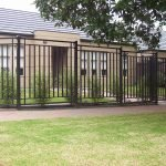 Modern Glenside Fence 1