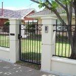 Modern Spartan Cross Fence 2